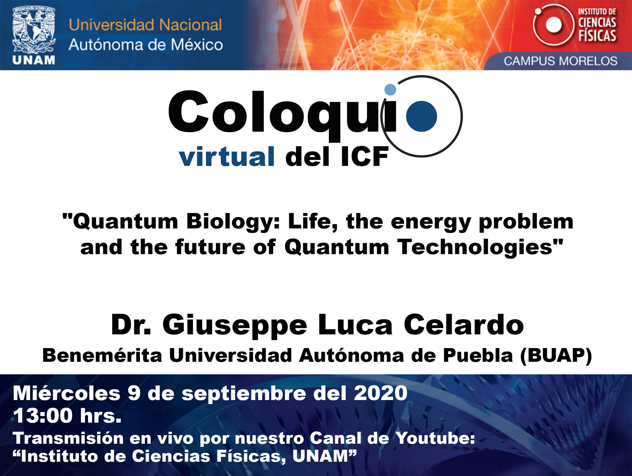 """Quantum Biology: Life, the energy problem and the future of Quantum Technologies"""
